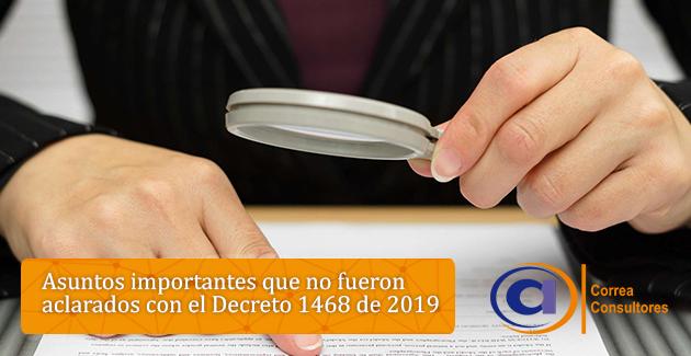 Decreto 1468 de 2019