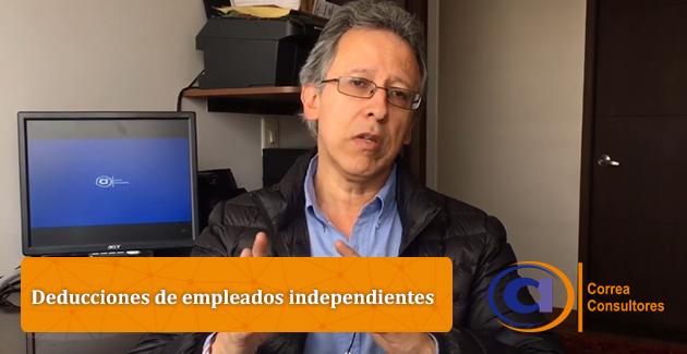 Deducciones de empleados independientes, Correa Consultores